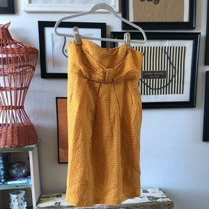 Dress with removable straps